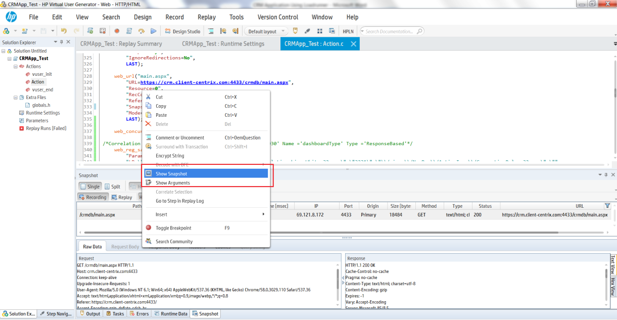 Load Testing Dynamics CRM / 365 with LoadRunner - Microsoft Dynamics